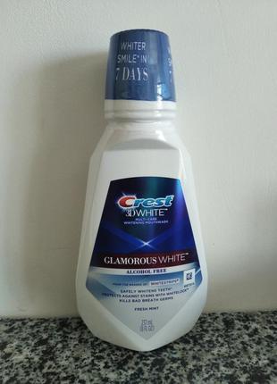 Ополаскиватель для полости рта crest 3d white multi-care glamorous white, 237 мл