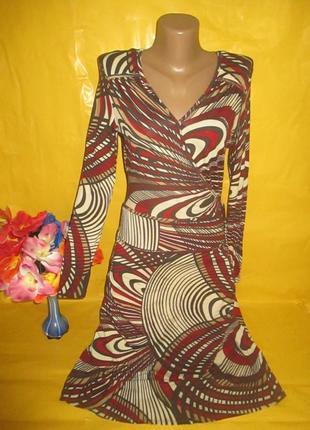 Очень красивое женское платье грудь 43-49 см next (некст) рр 10 95 % вискоза