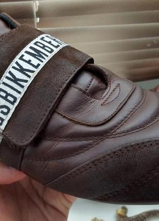 Кроссовки кожаные bikkembergs original