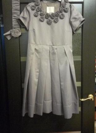 Платье,шелк