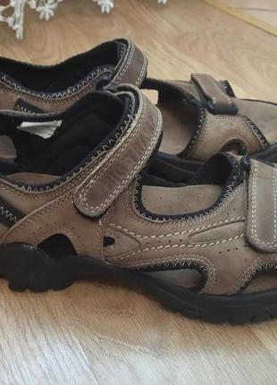 Кожаные босон, сандалии босоніжки big tramp германия 42р(clarks)