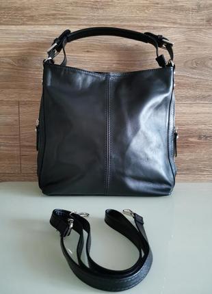 Женская сумка из натуральной кожи бренд vera pelle made in italy ручная работа