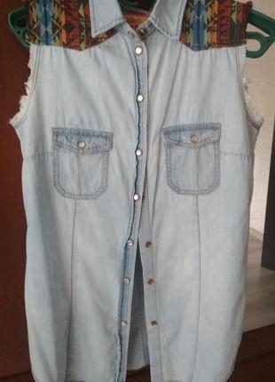 Рубашка під джинс