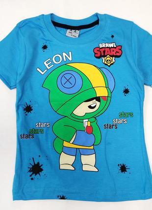 Детская футболка brawl stars 5-8 лет 4200-1