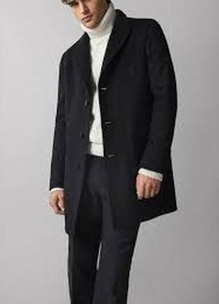 Пальто massimo dutti, мужское пальто, чоловіче пальто, пальто драповое