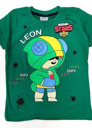 Детская футболка brawl stars 5-8 лет 4200-2