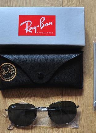 Ray ban hexagonal оригинал полностью новые очки