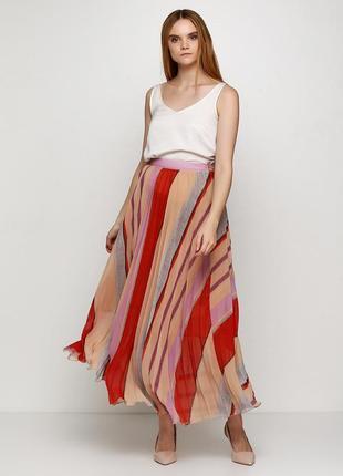 Длинная плессированная юбка h&m