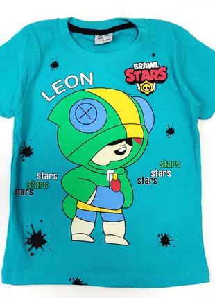 Детская футболка brawl stars 5-8 лет 4200-4