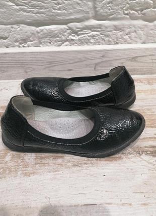 Классные легкие туфли для девочки, стелька 20 см