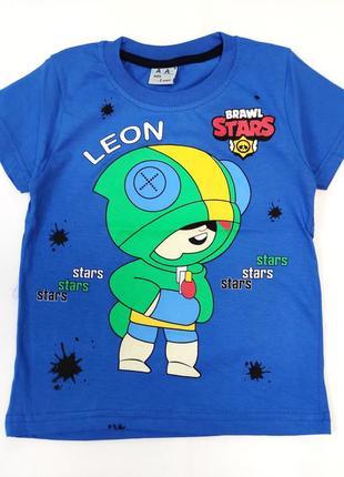 Детская футболка brawl stars 5-8 лет 4200-5