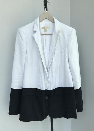 Michael kors пиджак льняной  блейзер майкл корс оригінал не guess x calvin klein x liu jo