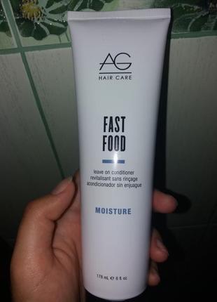 Ag hair fast food leave on conditioner кондиционер