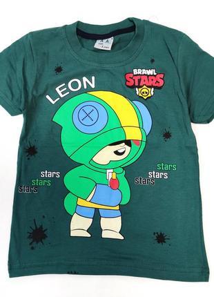 Детская футболка brawl stars 5-8 лет 4200-7