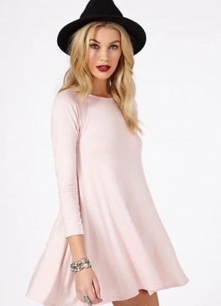 Стильное платье-трапеция missguided