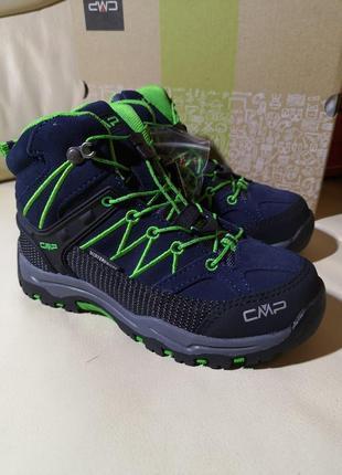 Ботинки треккинговые  cmp waterproof