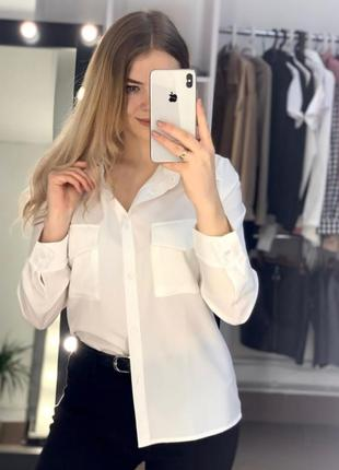 Сорочка біла, софт