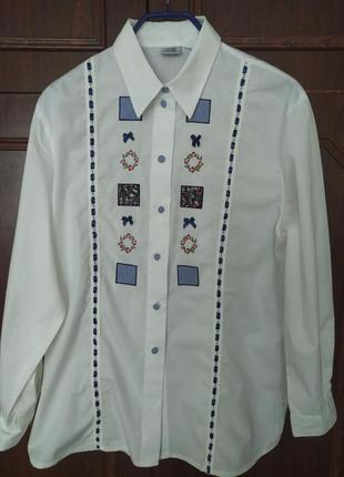 Шыкарная рубашка оверсай alba moda