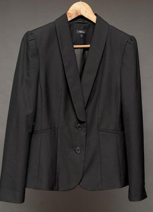 Next. черный пиджак, жакет женский приталеный.