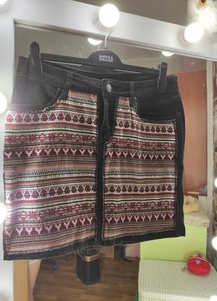 Джынсовая юбка