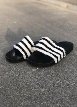 Adidas adelitte тапки сланцы