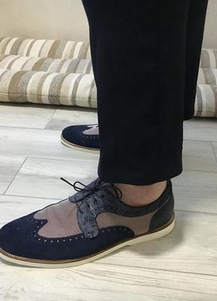 Giampiero nicola туфли броги 43 р.
