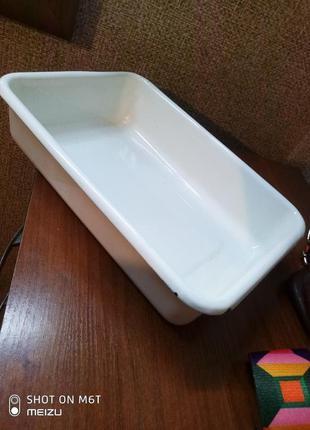 Эмалированная форма для выпечки, запекания