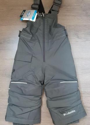 Новые зимние штаны полукомбинезон columbia, размер 2т, оригинал