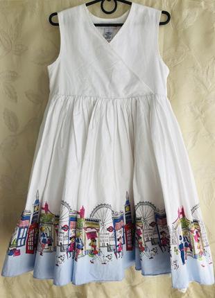 Красивое нарядное платье 6-7 лет