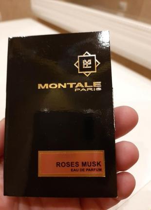 Пробник montale roses musk4 фото