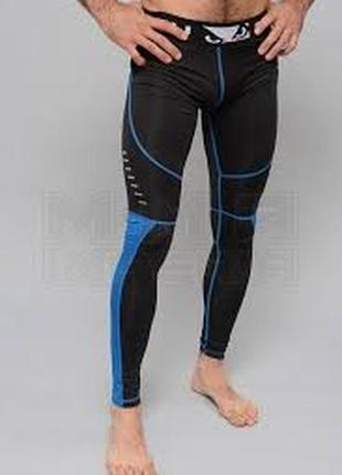 Мужские компрессионные штаны леггинсы лосины bad boy sphere compression