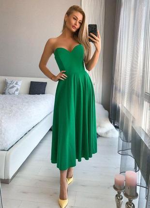 Платье, платье миди,корсетное платье