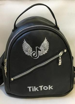 Новый шикарный женский рюкзак,касественная экокожа