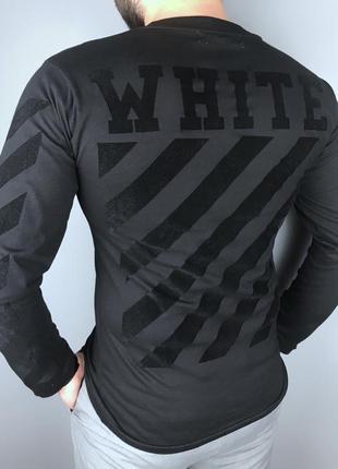 "Лонгслив off-white ""t-shirt"" размер m кофта ellesse stone island светр"