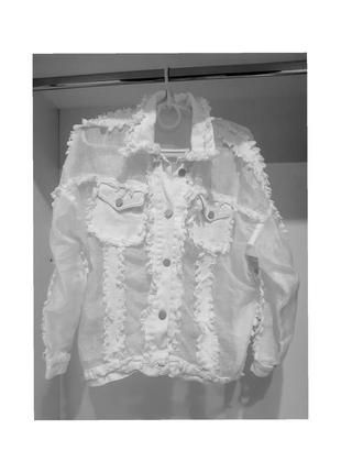 Куртка летняя в сетку