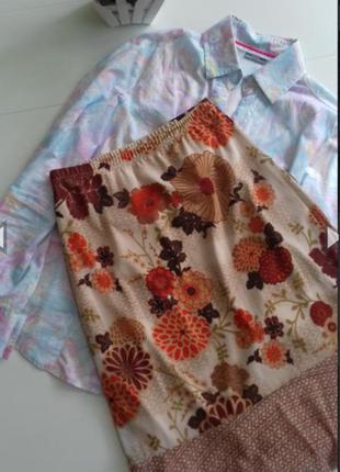 Летняя юбка с оборкой р. s/xs