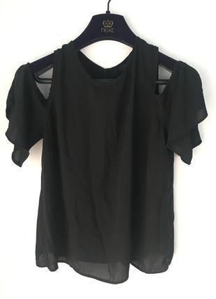 Блузка/кофточка с открытыми плечиками, 12 размер