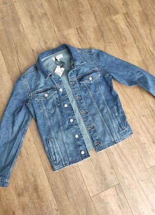Джинсовая куртка mango, размер xs-s
