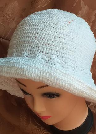 Летняя шляпа-панама
