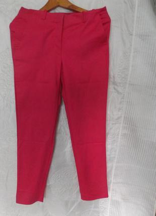 Укороченные брюки бриджи