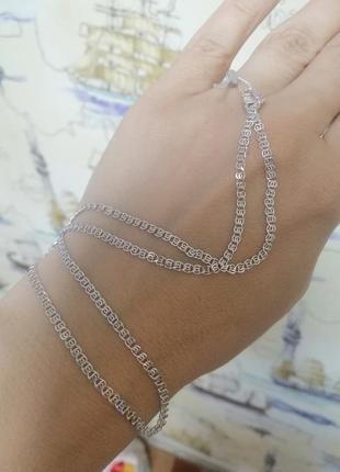 Ланцюжок срібний 45см