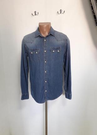 Рубашка zara  men размер м