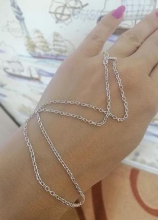 Ланцюжок срібний 40 см