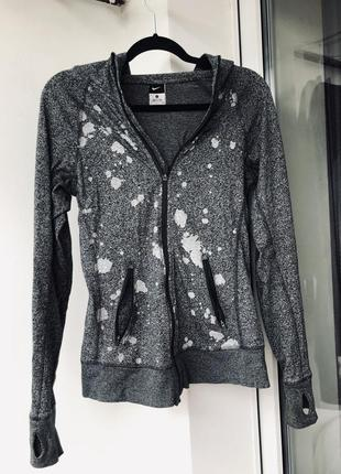 Спортивная кофта свитер ветровка nike dri fit s xs оригинал новый