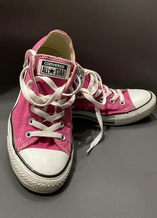 Кеди converse all star розовые размер 39