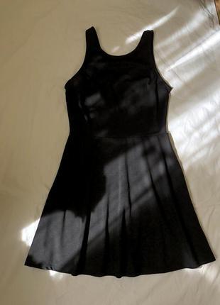 Платье чёрное, h&m divided