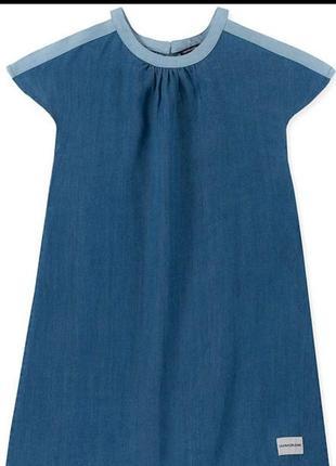 Стильное джинсовое платье calvin klein,оригинал,сша