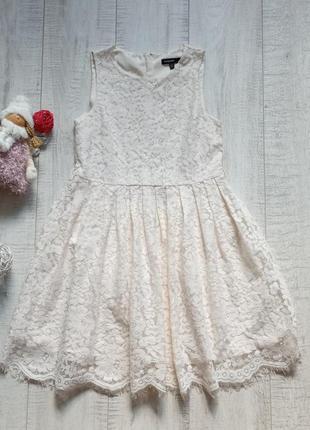 8-9 лет кружевное платье autograph