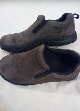 Замшевые туфли для мальчика lands' end