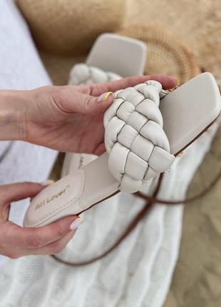 Шлепанцы шлепки на низком ходу с квадратным носком сланцы